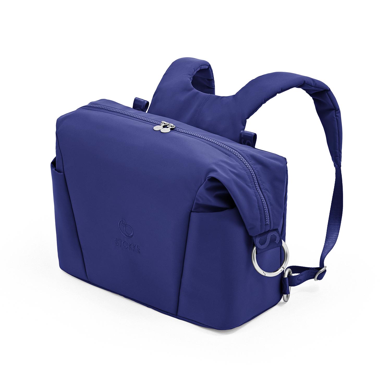 Купить Синяя сумка для коляски Xplory X Stokke, Нет цвета, Состав: Верх 100% Полиэстер, Наполнитель: 100% Этиленвинилацетат.