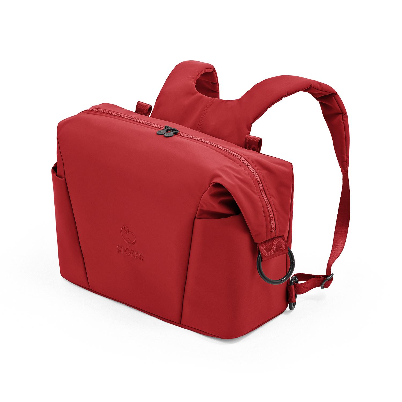 Купить Красная сумка для коляски Xplory X Stokke, Нет цвета, Состав: Верх 100% Полиэстер, Наполнитель: 100% Этиленвинилацетат.