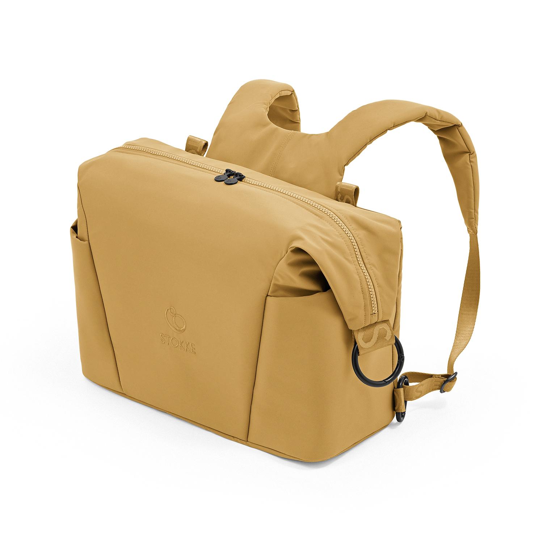 Купить Желтая сумка для коляски Xplory X Stokke, Нет цвета, Состав: Верх 100% Полиэстер, Наполнитель: 100% Этиленвинилацетат.