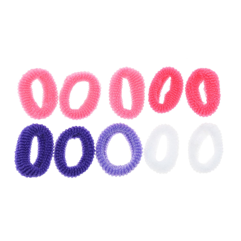 Купить Резинка для волос Soft Basic, 10 шт Junefee детская
