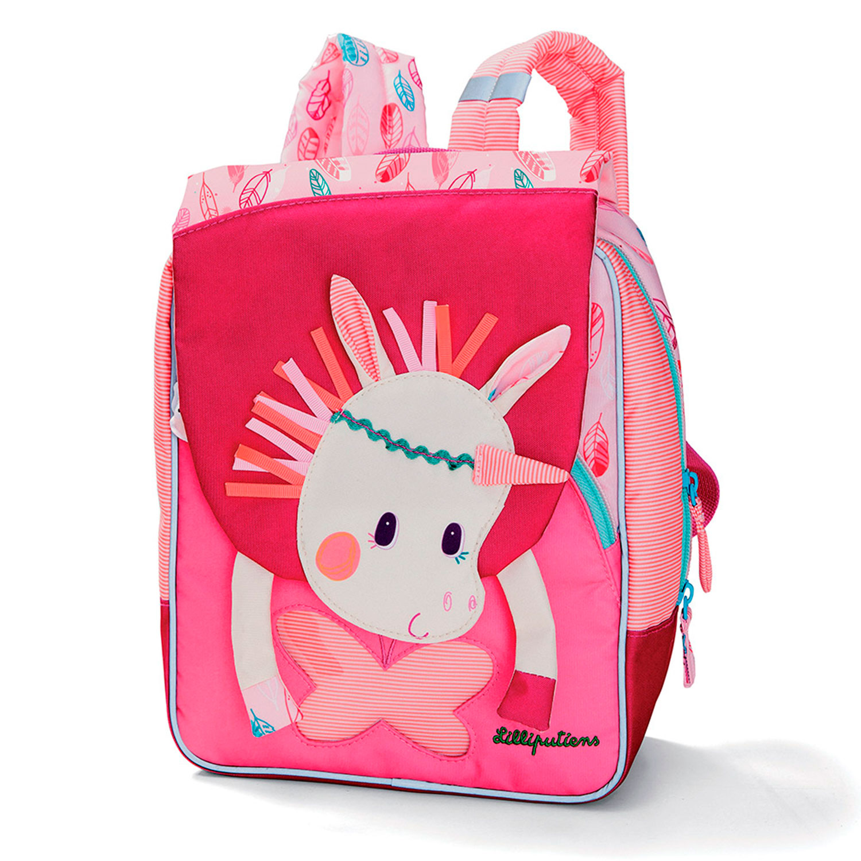 Купить Дошкольный рюкзак Единорог Луиза Lilliputiens детский, Нет цвета, текстиль
