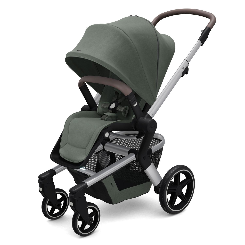 Купить Детская коляска Joolz Hub+, Marvellous Green, Нет цвета, металл, пластмасса, хлопок, полиэстер, поливинилхлорид, резина