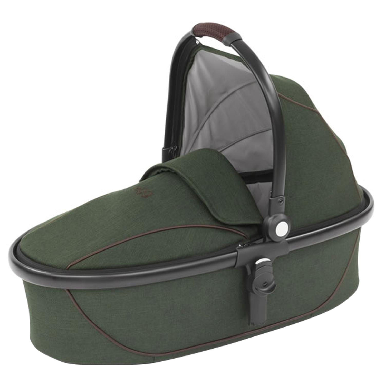 Люлька Stroller Carrycot Country Green & Black Frame egg фото