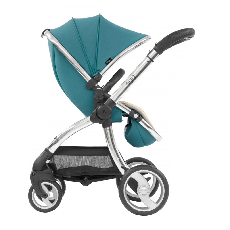 Купить Коляска egg Stroller Cool Mist & Chrome Chassis, Нет цвета, Полиэстер, полиуретан, алюминий, полипропилен