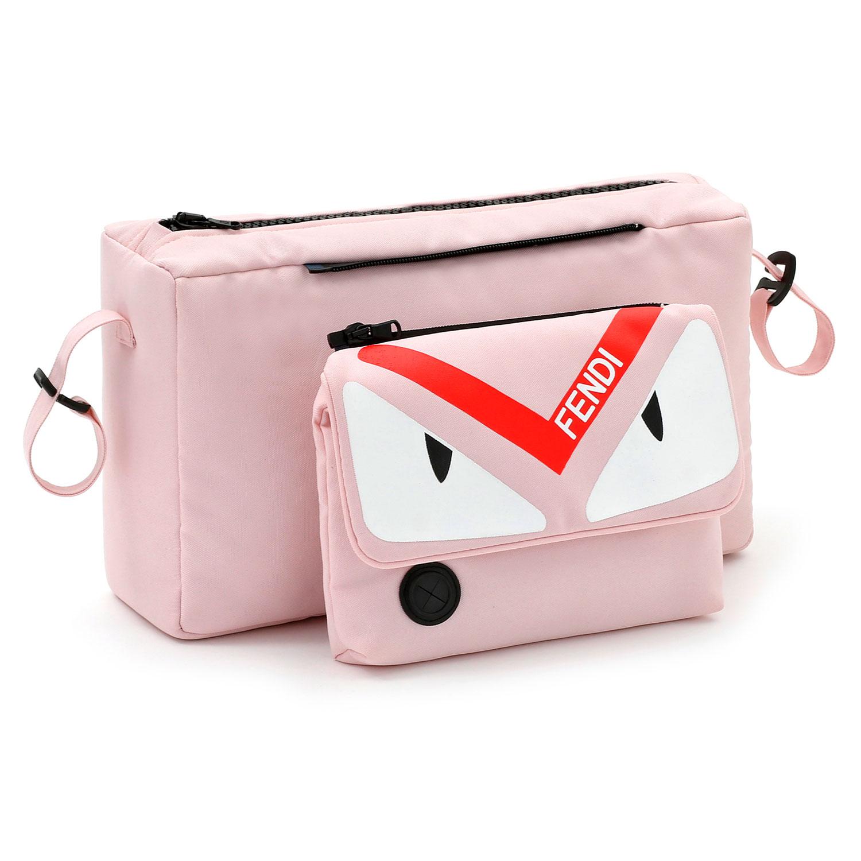 Купить Сумка-органайзер на коляску, розовая Fendi Inglesina, Нет цвета, 100%полиэстер