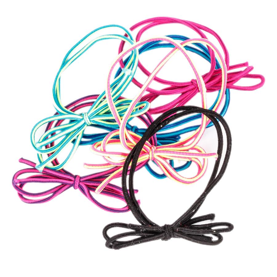 Купить Набор из шести двойных разноцветных резинок Tais детский, Нет цвета, см на уп