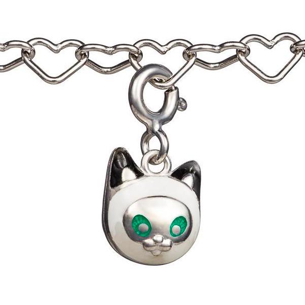 Купить Шарм Семейная Игривый котенок Namfleg детский, Нет цвета, серебро