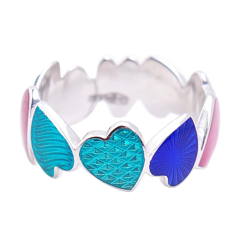 Купить Кольцо Сердца Бирюзовое сердце Namfleg