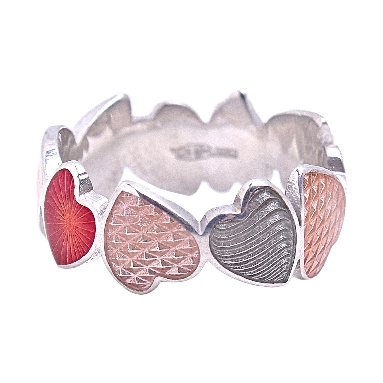 Купить Кольцо Сердца Тайное сердце Namfleg