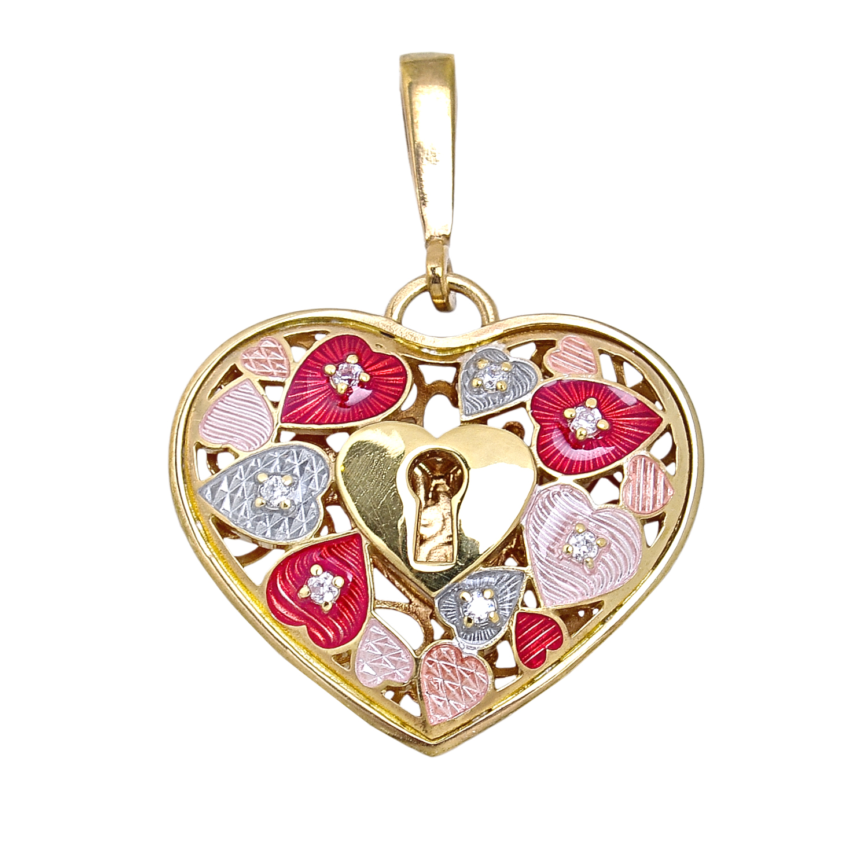 Купить Кулон Ключ от моего сердца Заветное желание Namfleg
