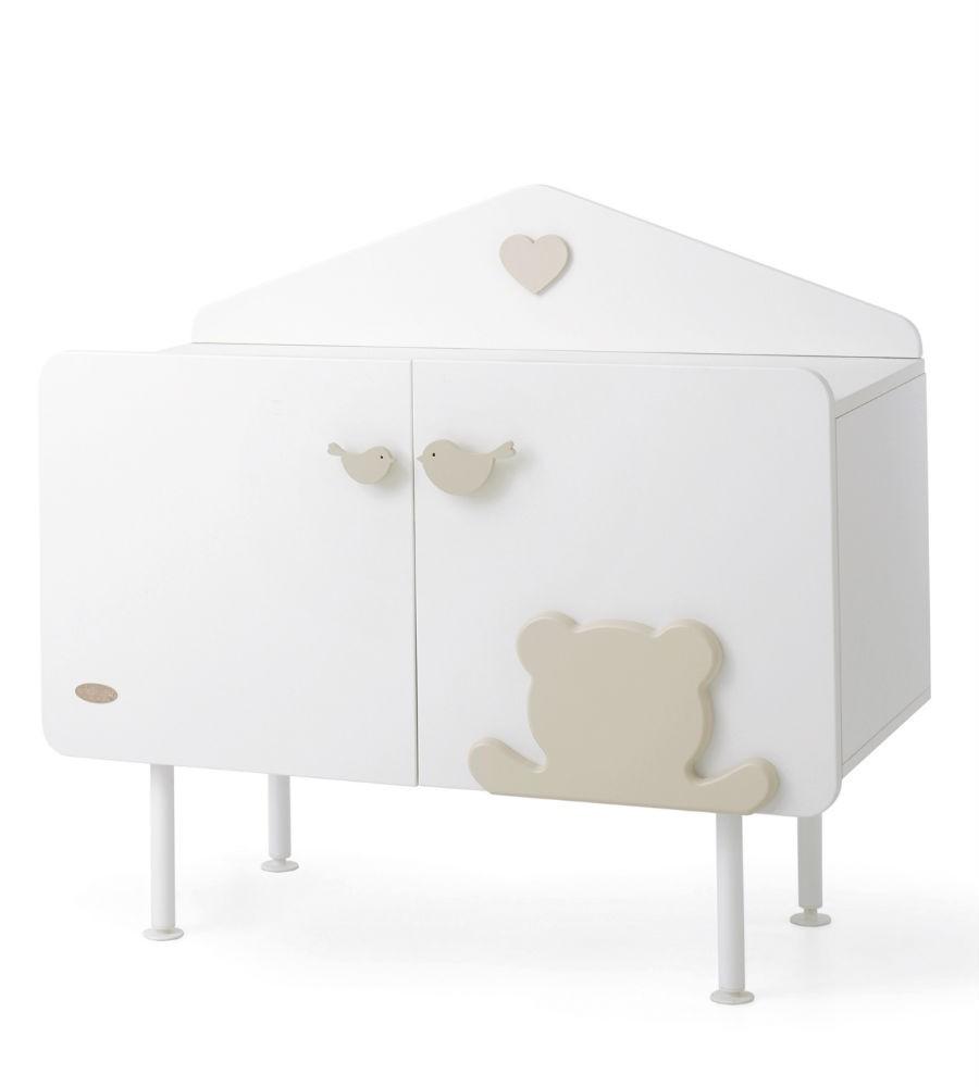 Купить Комод коллекция Casetta, белый/кремовый, Baby Expert
