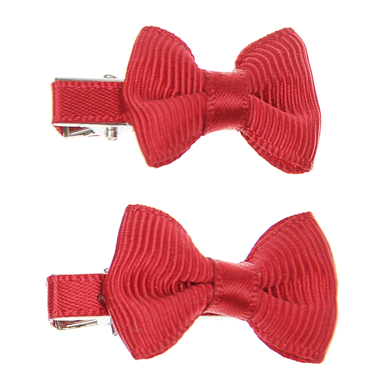 Зажим для волос Small Bow Z 2 шт.Ободки, заколки, резинки<br>