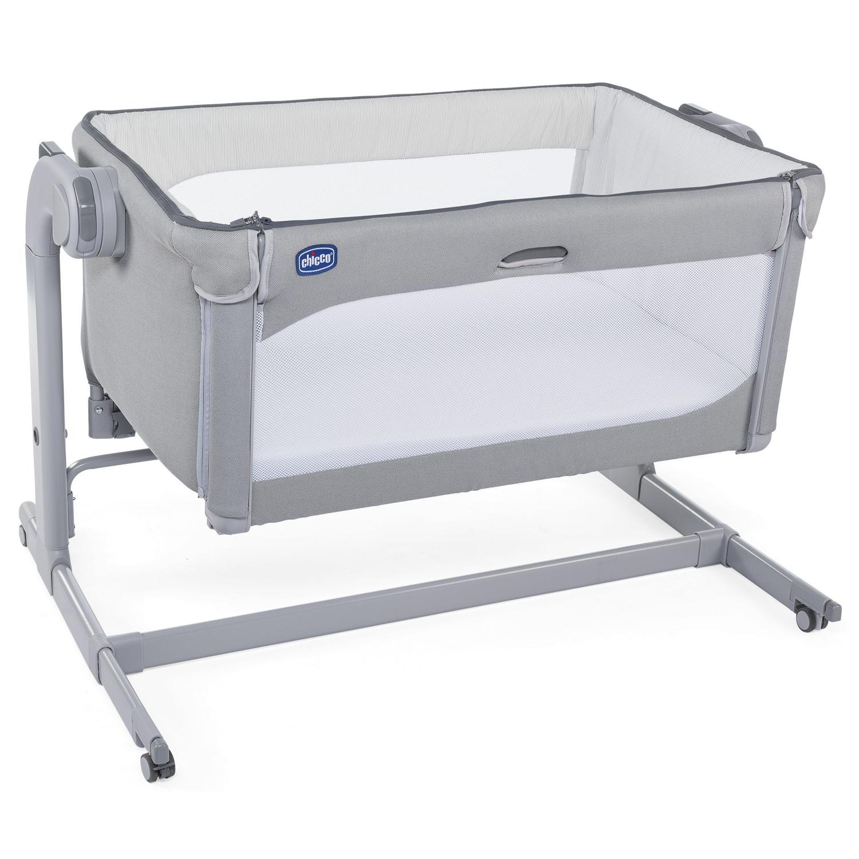 Купить Кровать Next2Me Magic cool grey, CHICCO