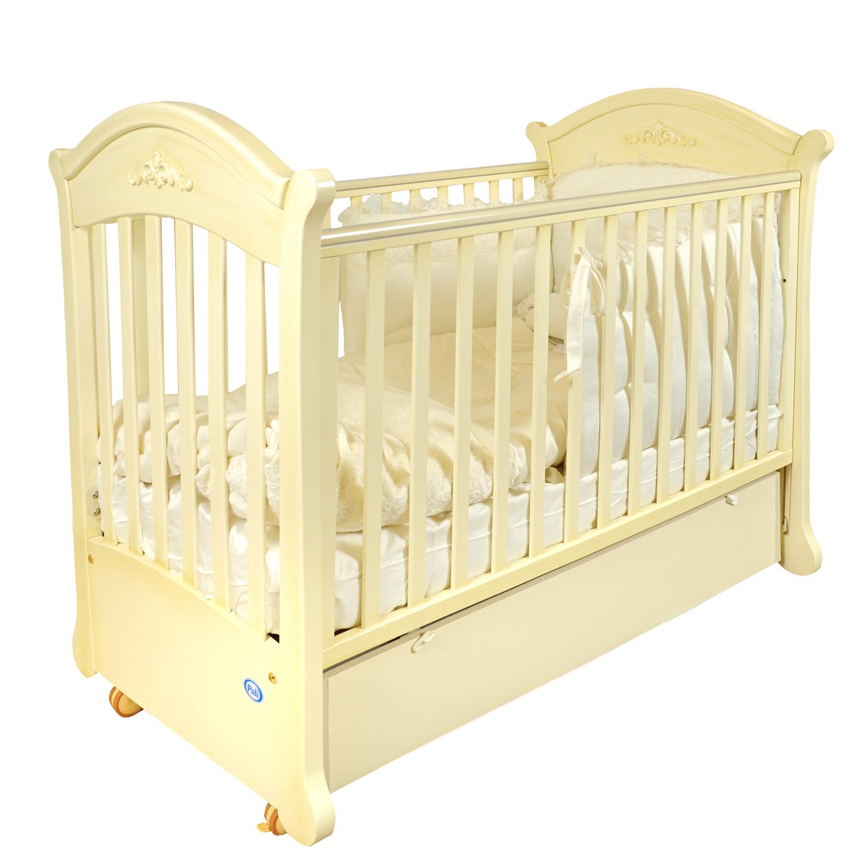 Кровать для новорожденного с маятником, коллекция TulipКровати для новорождённых<br><br>