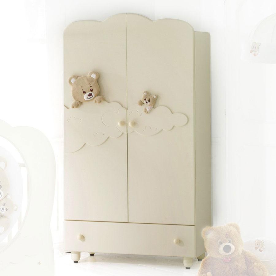 Купить Шкаф Baby Expert Abbracci by Trudi, кремовый