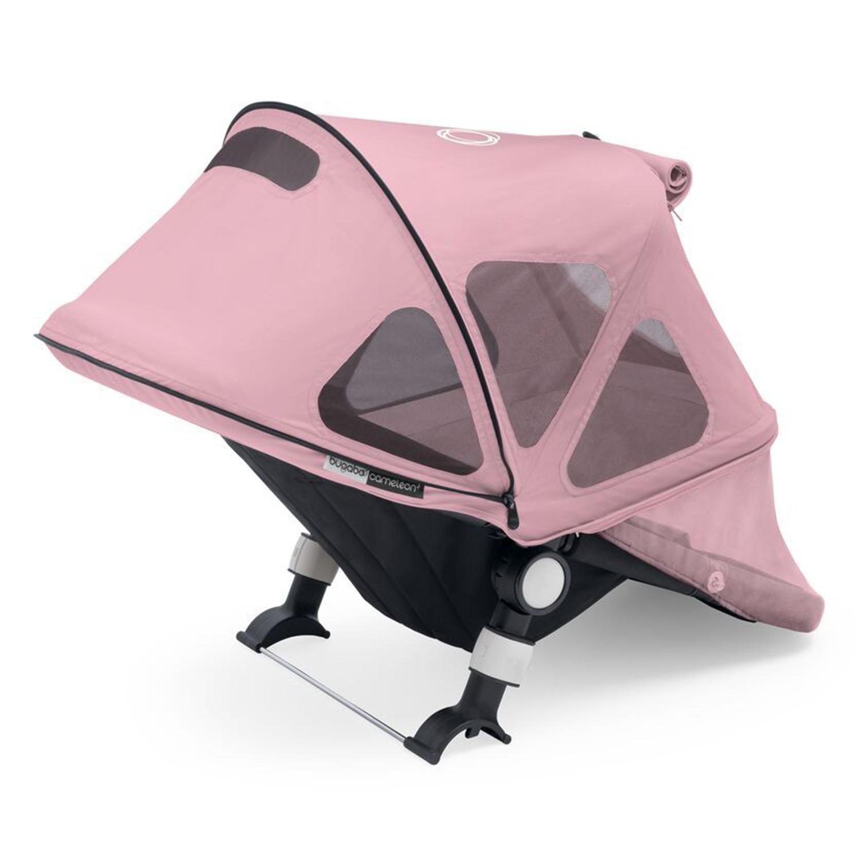 Купить Капор от солнца для коляски Cameleon3/Fox/Fox2 breezy Soft Pink Bugaboo, Нет цвета, 100% полиэстер с защитой от от ультрафиолета 50+