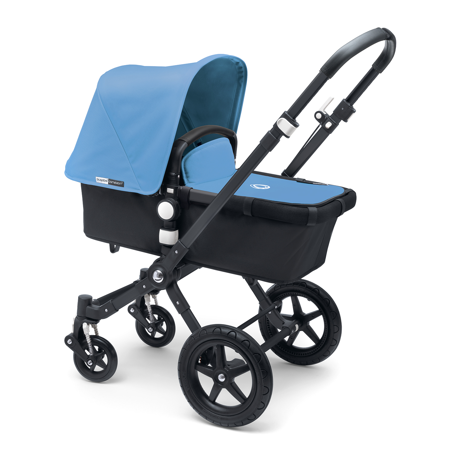 Купить Коляска 2 в 1 Cameleon 3 black/ice blue, Bugaboo