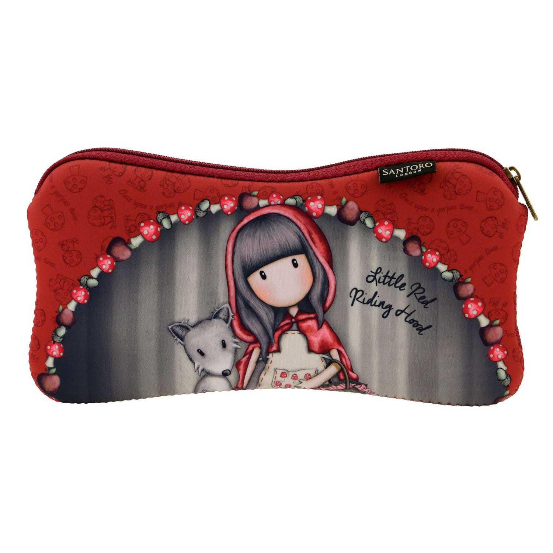 Купить Косметичка Little Red Riding Hood серия Gorjuss 25x11.3x1 см, Santoro London