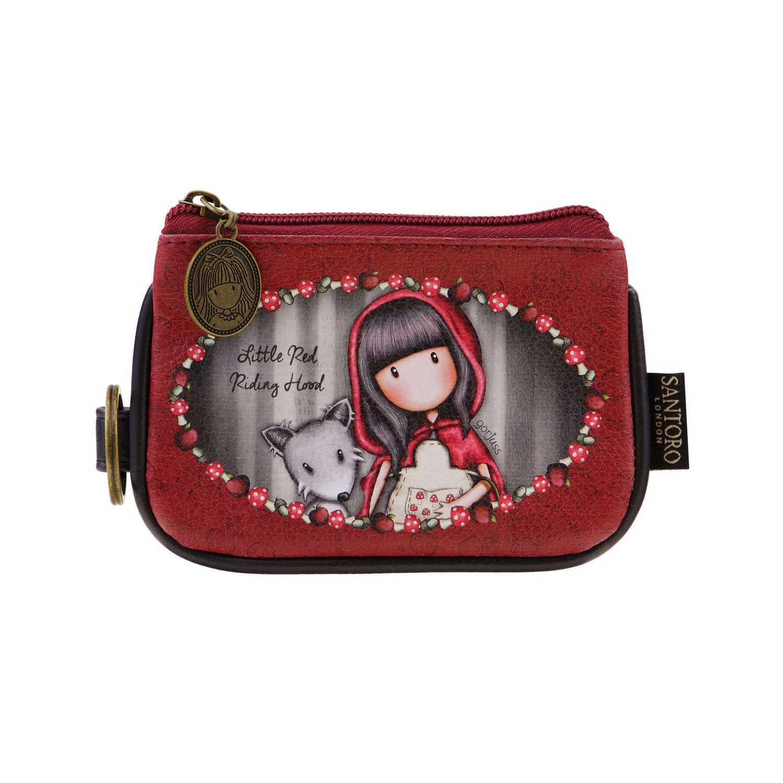 Купить Кошелек Little Red Riding Hood серия Gorjuss 12x13x1 см, Santoro London
