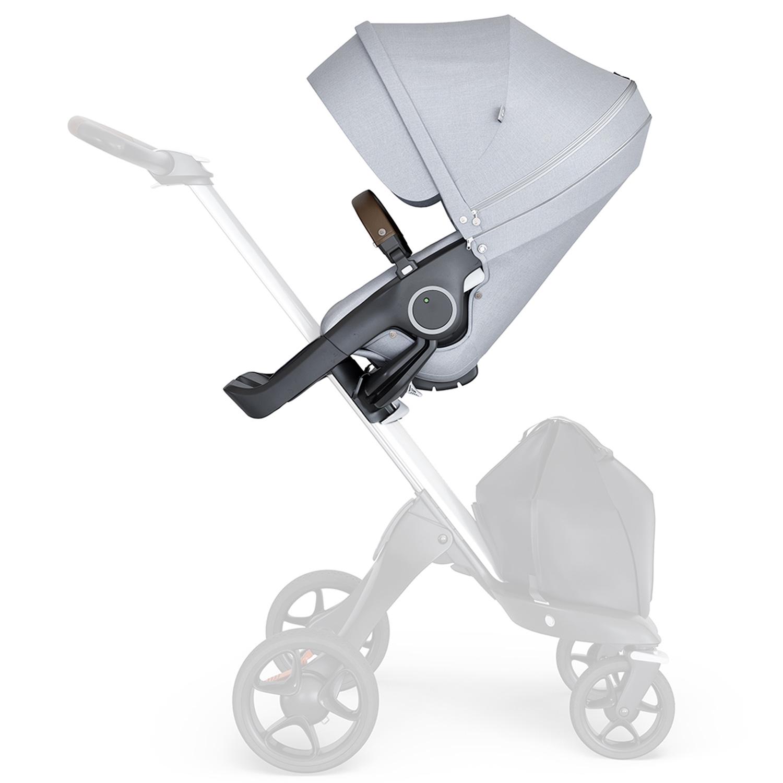 Купить Прогулочный блок для коляски Stokke Xplory V6 и TRAILZ, серый меланж