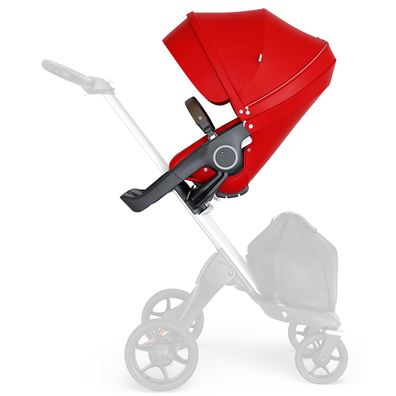 Прогулочный блок для коляски Stokke Xplory V6 и TRAILZ, красный  - купить со скидкой