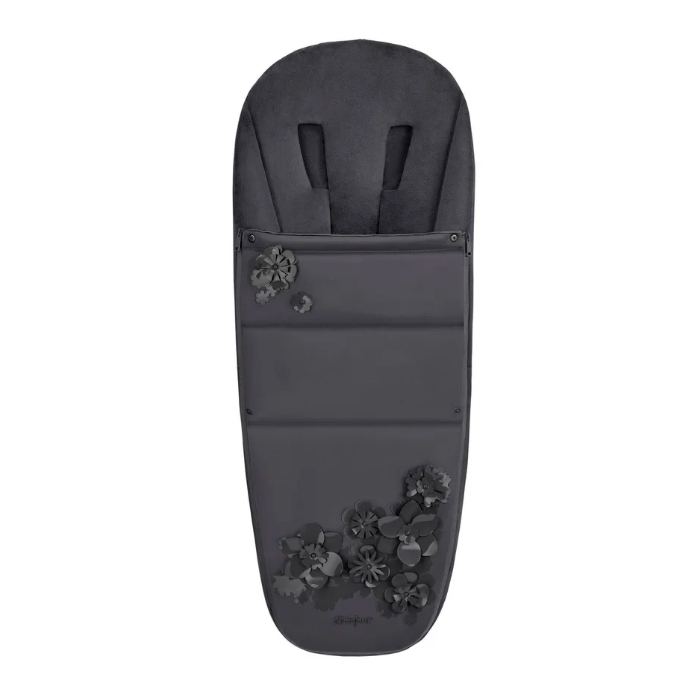 Накидка для ног для коляски Cybex PRIAM FE Simply Flowers Grey цвет нет цвета