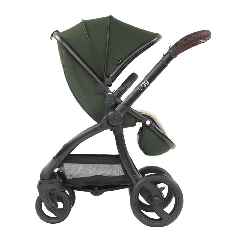 Купить Коляска Stroller Country Green & Black Chassis egg