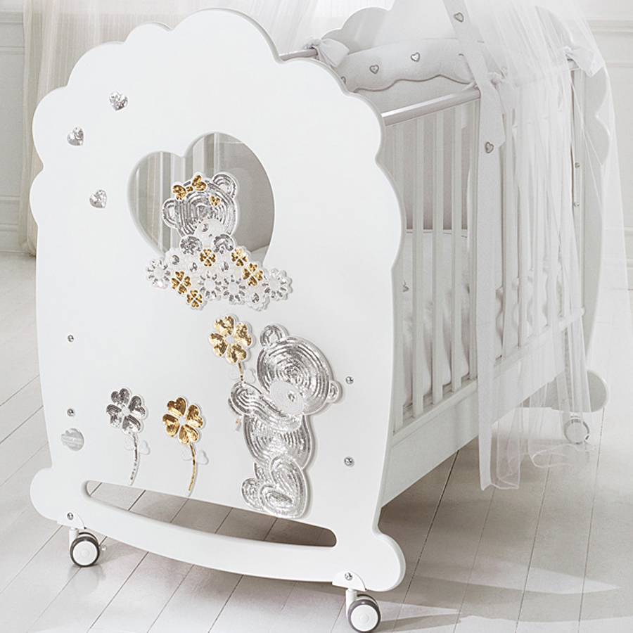 Кроватка для новорождённого Baby Expert MeravigliaКровати для новорождённых<br><br>