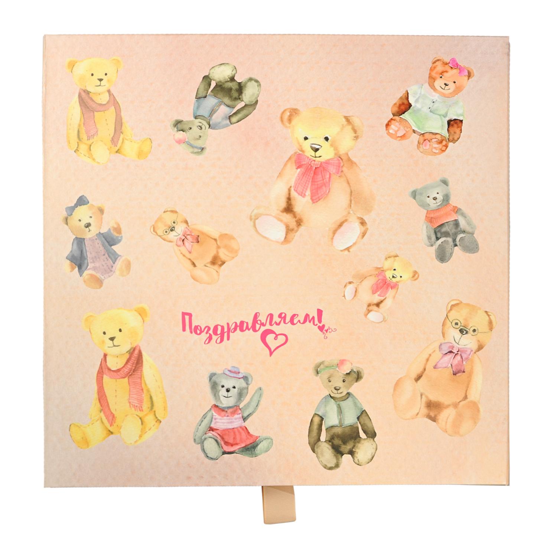 Купить Подарочная коробка 35*35* Кенгуру детская, Нет цвета, картон