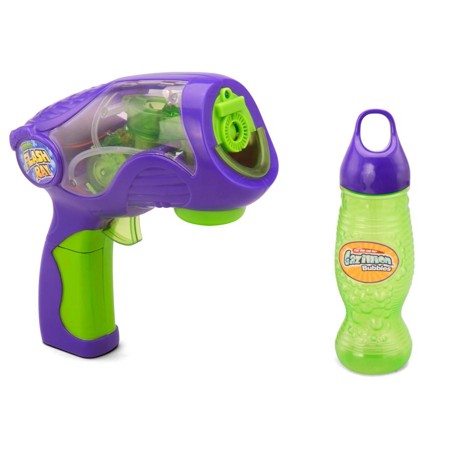 Игрушка Smoby Набор Вспышка пистолет для мыльных пузырей +растворРазвивающие игрушки<br><br>