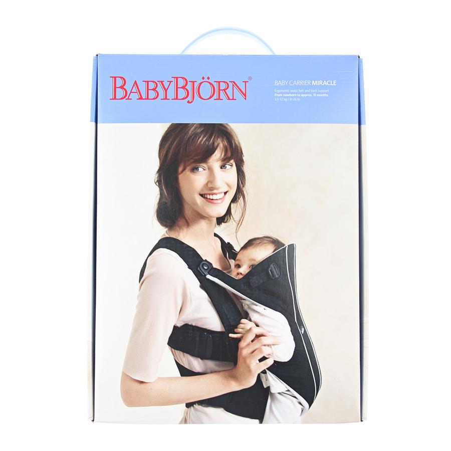 Рюкзак Baby Bjorn Miracle Organic повышеной комфортности
