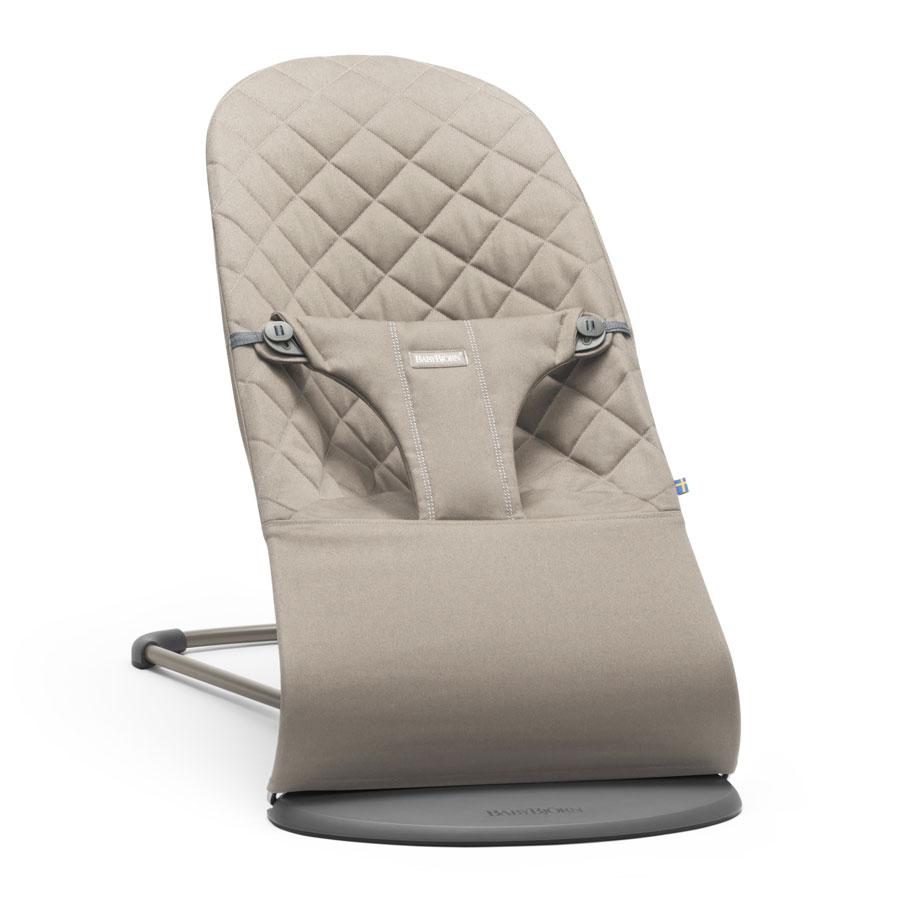 Шезлонг-кресло Baby Bjorn для детей Bliss Cotton