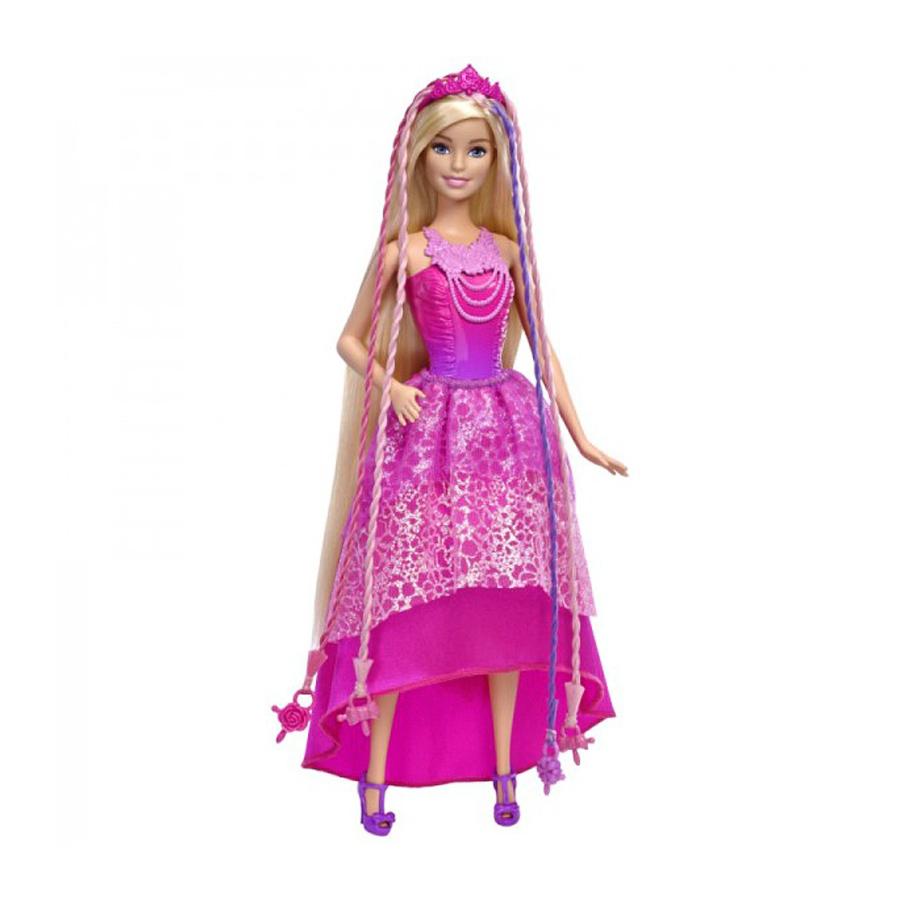 Кукла Barbie принцесса с волшебными волосамиКуклы. Фигурки<br><br>
