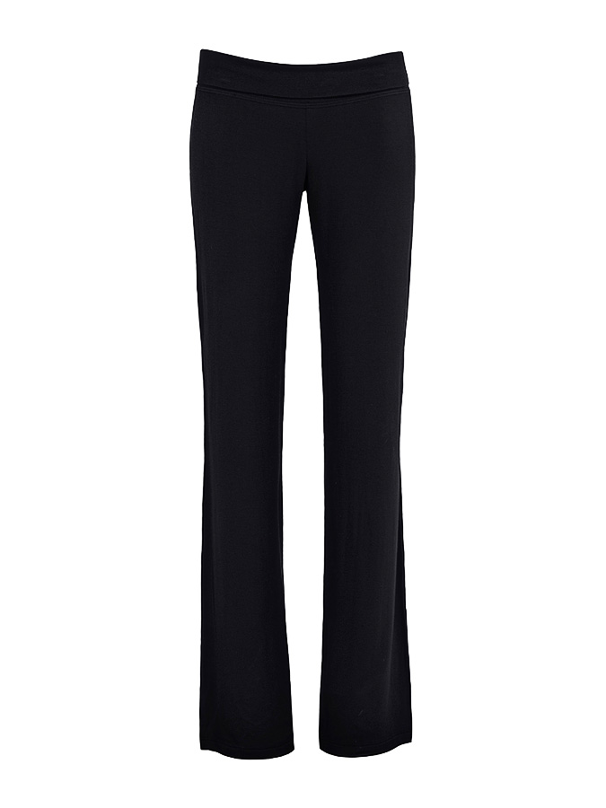 Пижамные брюки Serenity Cache Coeur HWПижамы<br>Черные брюки Cache Coeur прекрасно сочетаются с другими вещами из линии Serenity. Расклешенная модель сшита из мягкой бамбуковой вискозы. Изделие имеет сертификат OEKO-TEX
