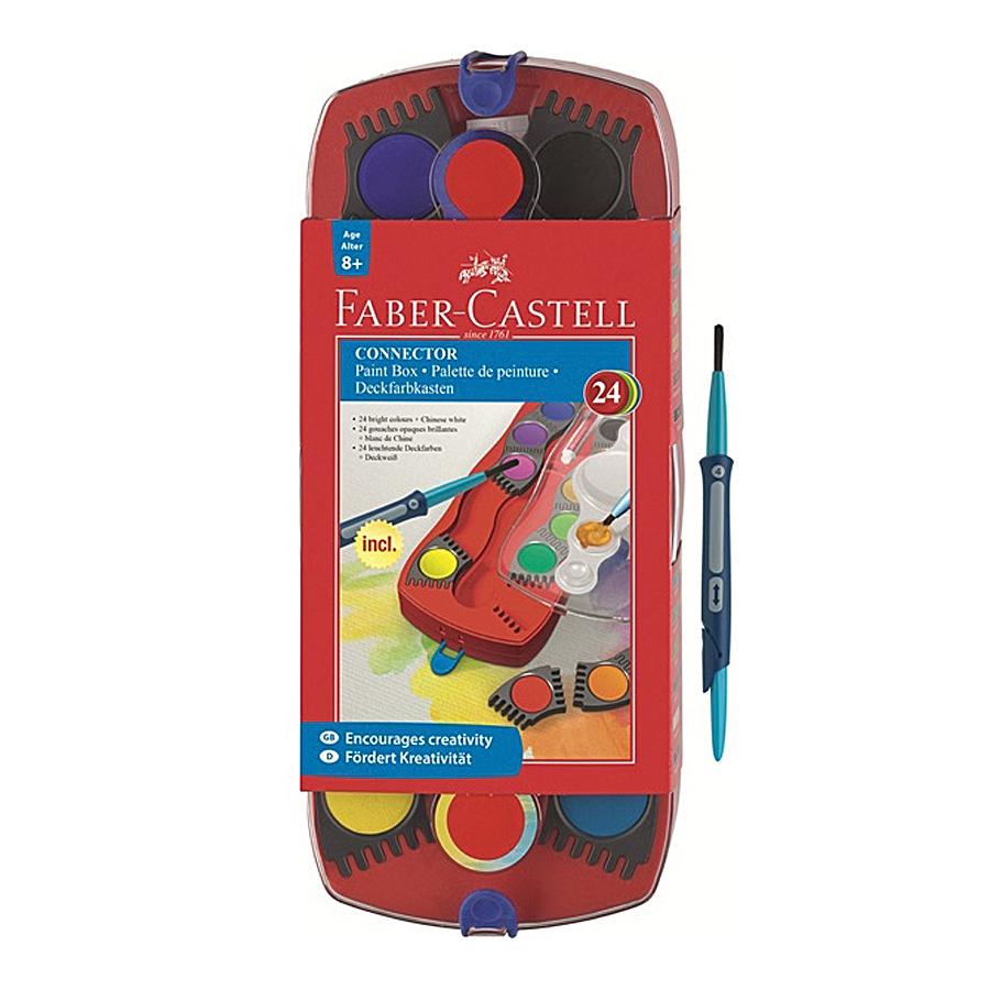 Краски акварельные Connector, набор цветов, в пластиковом поддонеКраски<br><br>