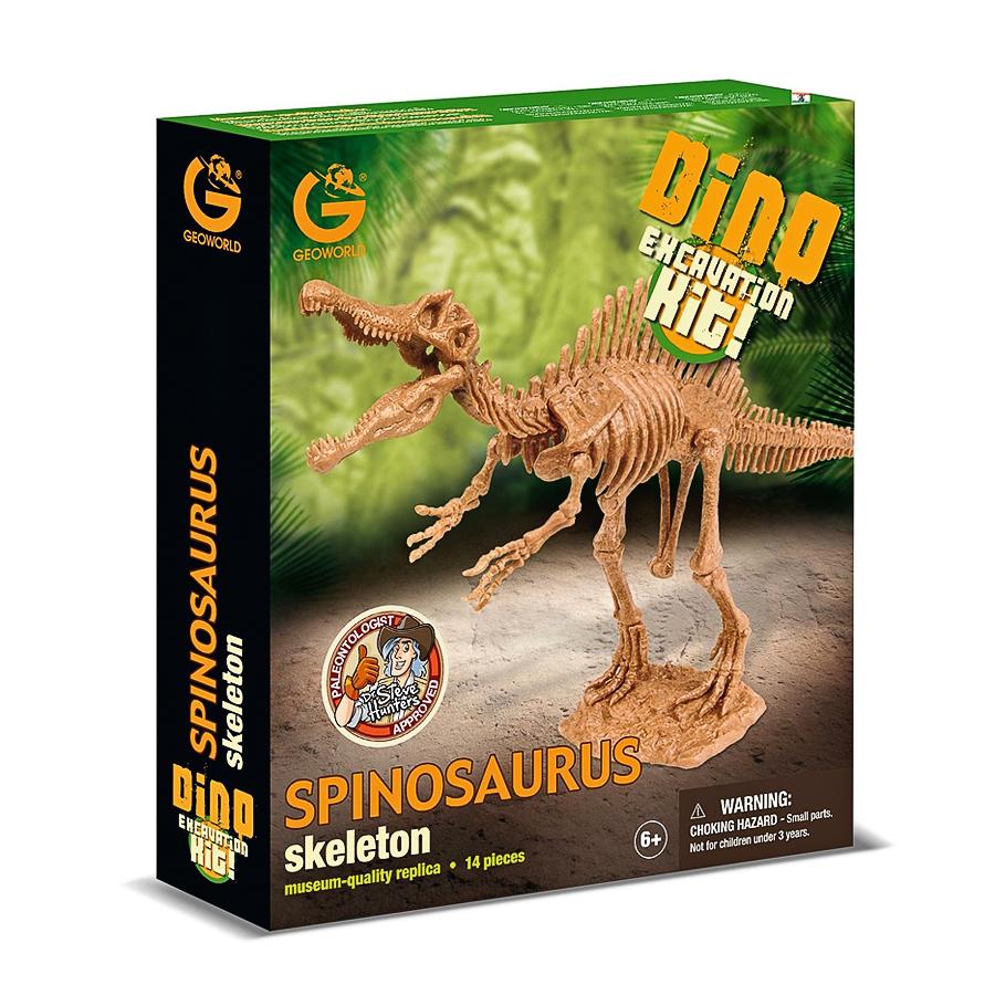 Набор Geoworld для проведения раскопок Спинозавр