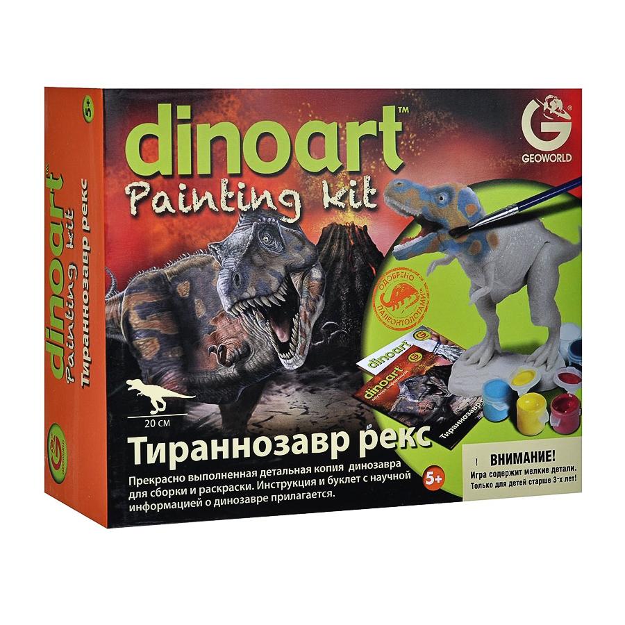Набор Geoworld Набор для творчества Диноарт Тираннозавр Рекс