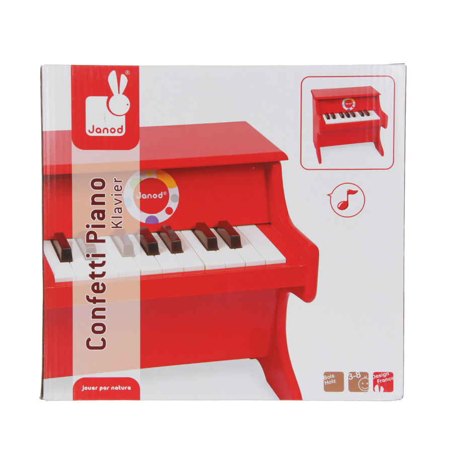 Игрушка Janod Пианино красноеРазвивающие игрушки<br><br>