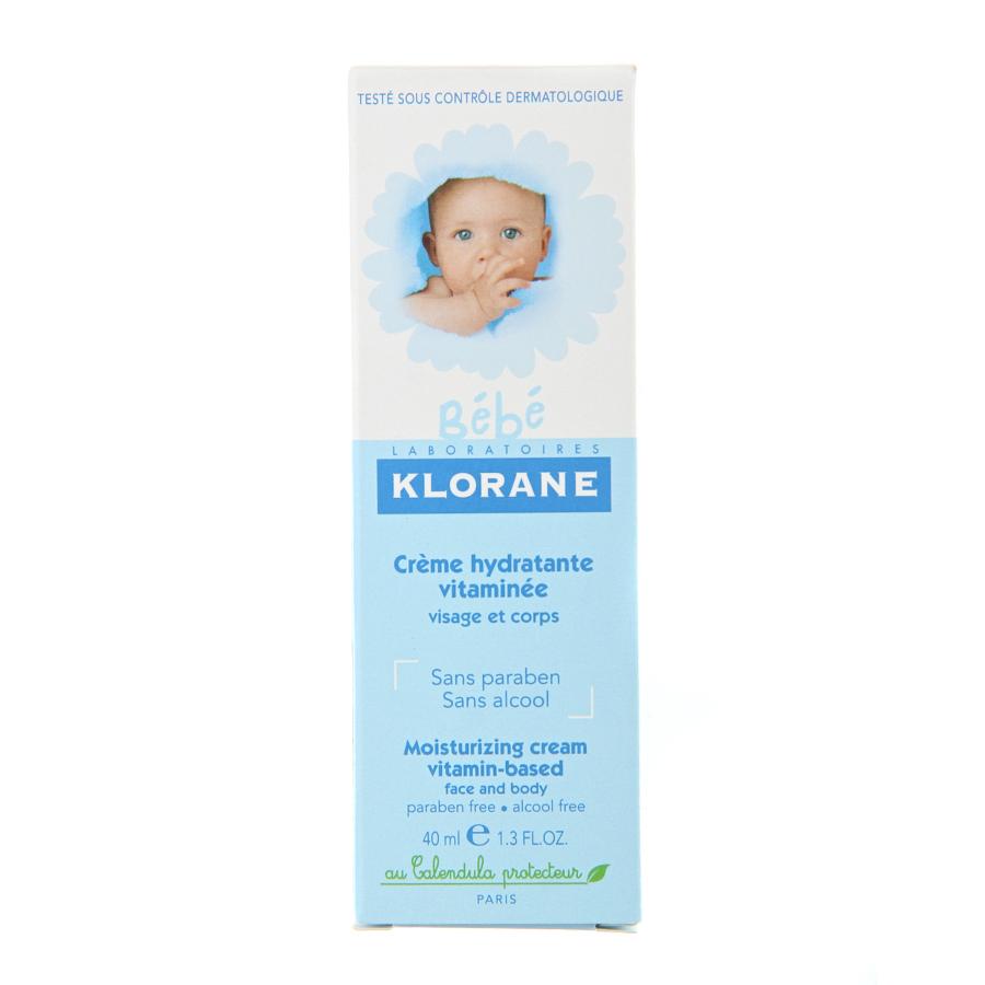 Крем Klorane Bebe увлажняющий с витаминами и экстрактом календулыДля ухода<br><br>