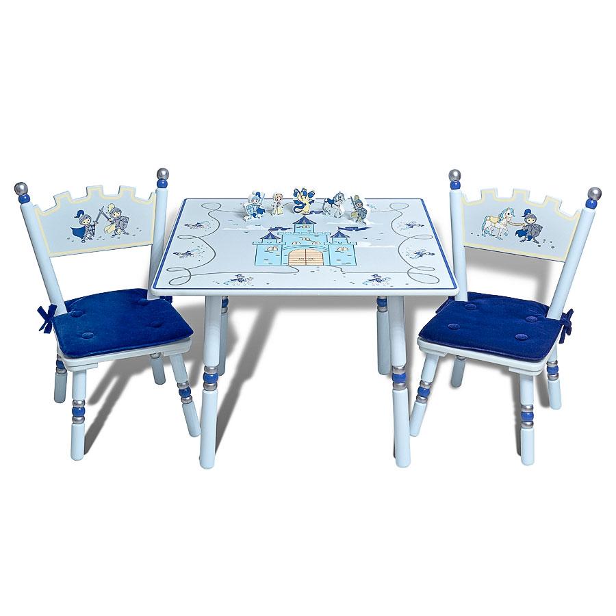 Комплект Major-Kids Рыцари (стол, два стула)Игровая мебель<br><br>