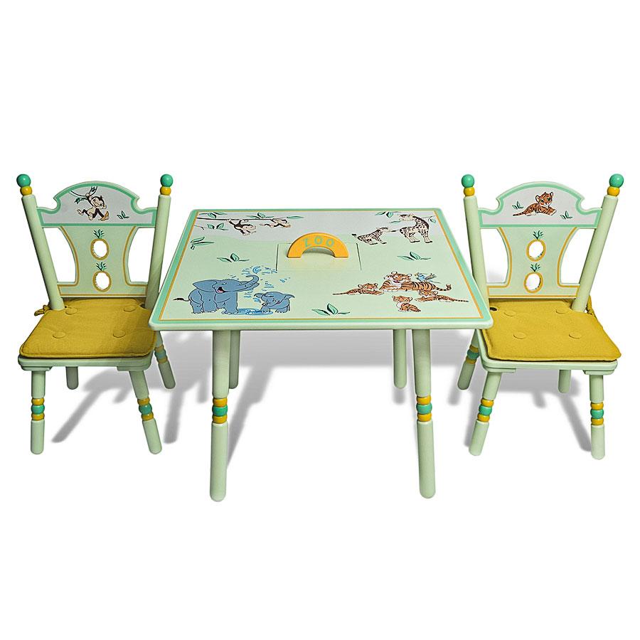 Комплект Major-Kids Зоопарк (стол, два стула)