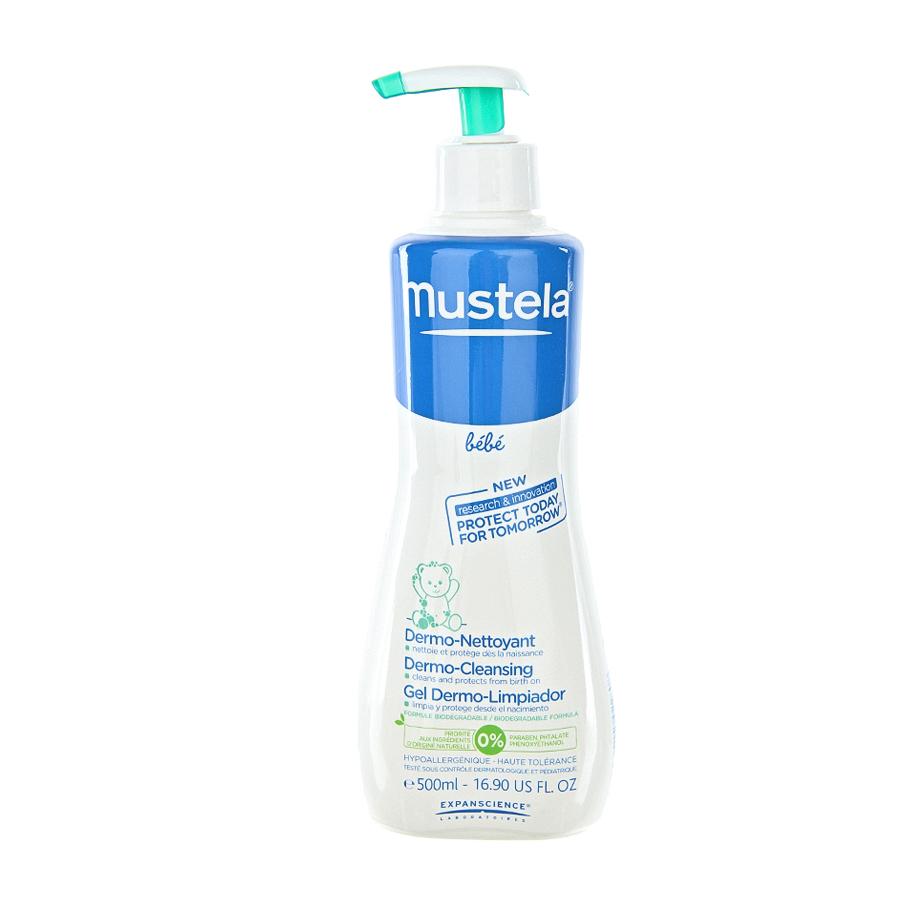 Гель Mustela для мытья детей с первых дней жизни
