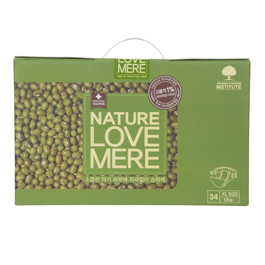 Подгузник Nature Love Mere Premium DiaperXl 12кг, 34шт.
