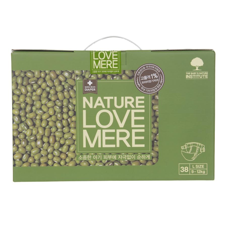 Подгузники Nature Love Mere Premium DiaperL 9-12кг, 38 шт.Подгузники<br><br>