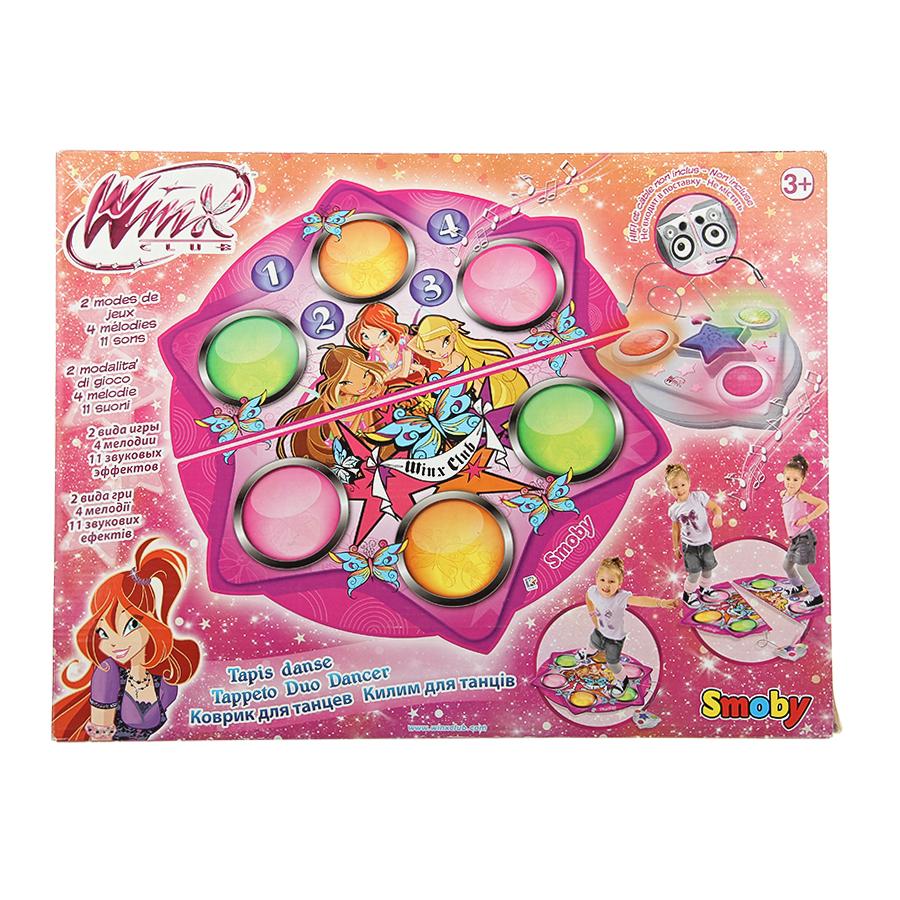 Коврик Smoby танцевальный Winx, звуковой, на батарейкахРазвивающие игрушки<br><br>
