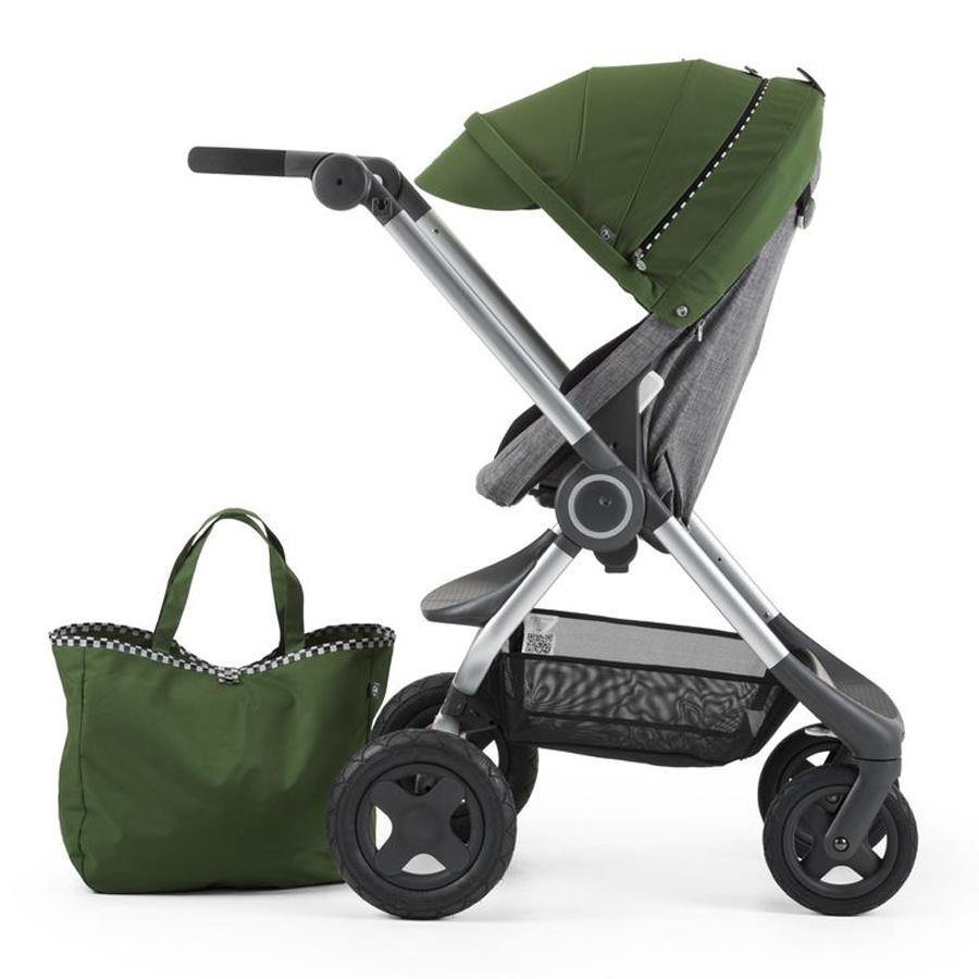 Купить Комплект Stokke Style Kit Racing Green, для коляски Scoot