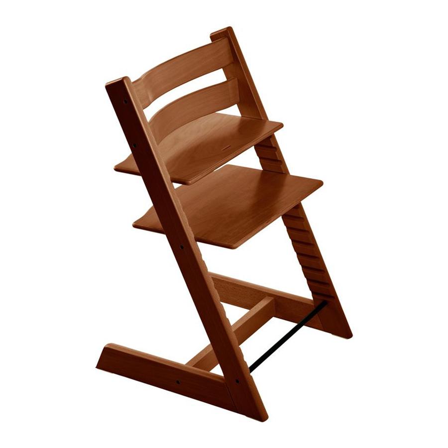Стул Stokke Tripp Trapp Walnut Brown<br>
