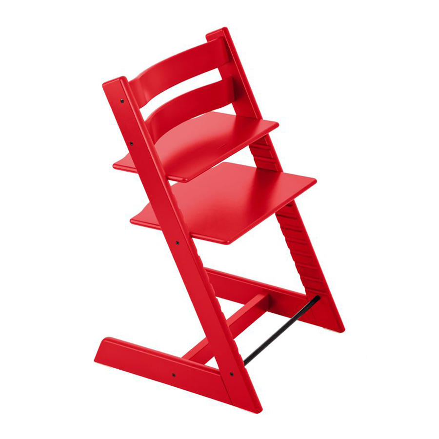 Стул Stokke Tripp Trapp Chair Red