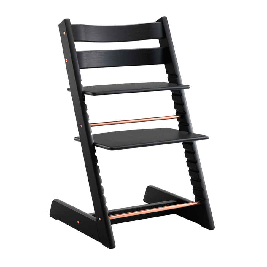 Комплект Stokke Tripp Trapp Стульчик Anniversary Oak Black+ Подушка Anniversary<br>