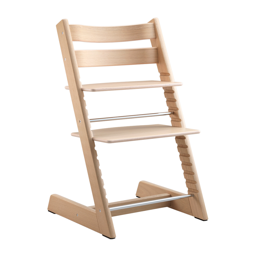 Комплект Stokke Tripp Trapp Стульчик Anniversary Oak White+ Подушка Anniversary<br>